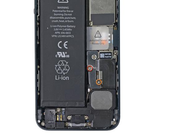 iPhone 5 Akku Sicherung