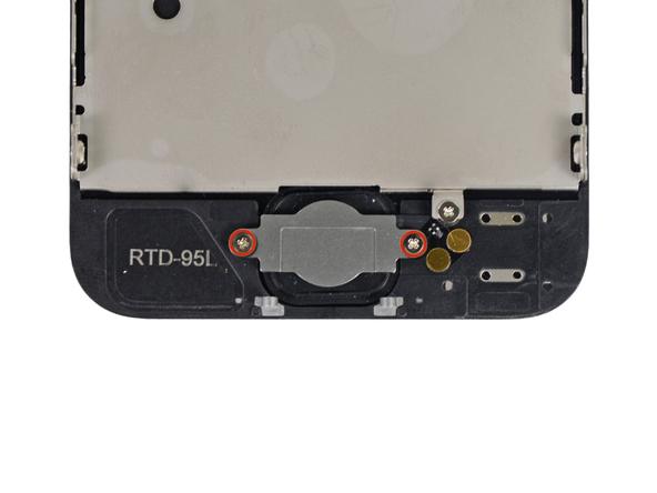 iPhone 5 Homebutton Schrauben