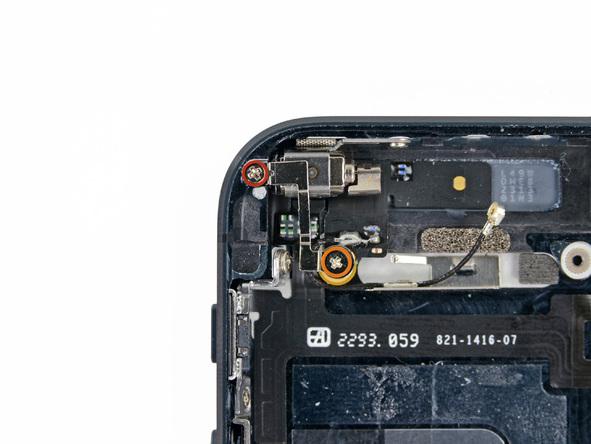 iPhone 5 Vibrationsmotor Schrauben
