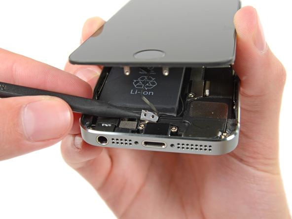 iPhone 5s Homebutton Stecker Abdeckung
