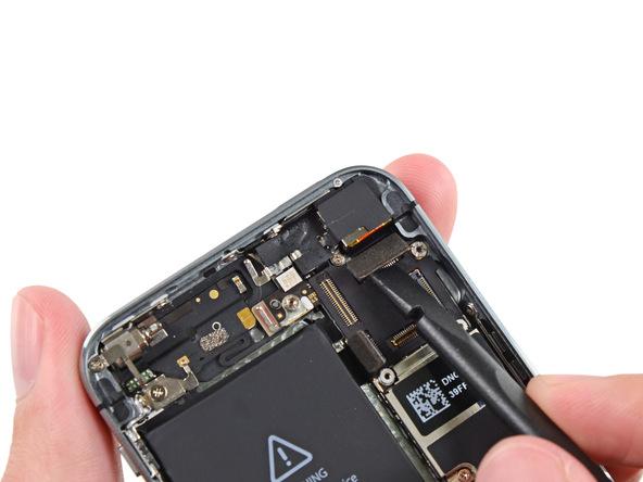 iPhone 5s Kamera Stecker