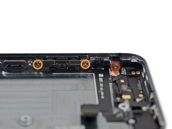 iPhone 5s Lautstärke Schrauben