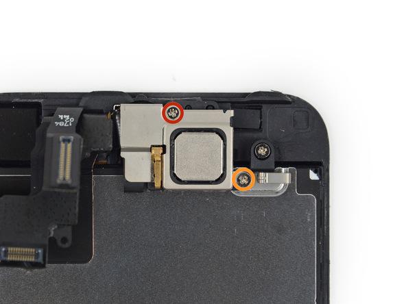 iPhone 5s Ohrmuschel Schrauben